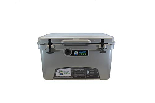 Frosted Frog Gray 45 Quart Ice Chest Heavy Duty High...