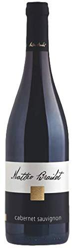 BRAIDOT MATTEO Vino rosso CABERNET SAUVIGNON BOTT. 75 CL - IMBALLO DA 6 BOTTIGLIE DA 75 CL