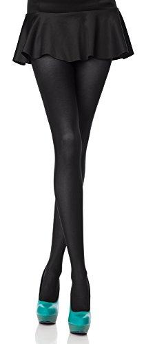 Merry Style Collant da Donna Opaco in Microfibra 40 DEN (Nero, M (Taglia Produttore: 3))