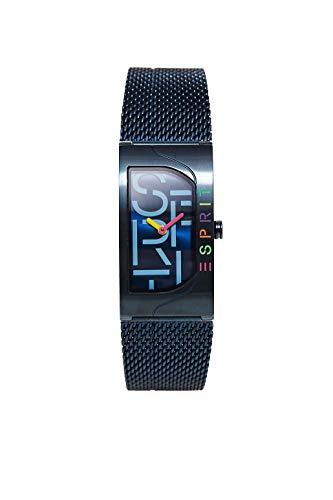 Esprit Damen Analog Quarz Uhr mit Edelstahl Armband ES1L046M0085