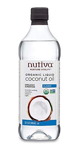 Organic Unrefined Liquid Coconut Oil