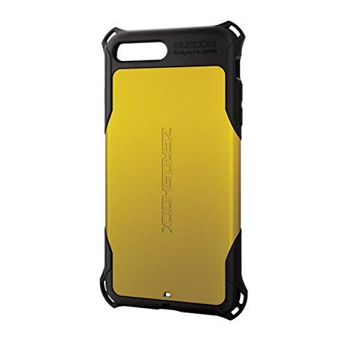 エレコム iPhone8 Plus ケース カバー 衝撃吸収 【 落下時の衝撃から本体を守る 】 ZEROSHOCK スタンダード...