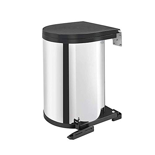 313DHTWU8SL - Best 15 Under Sink Trash Cans Reviews 2020