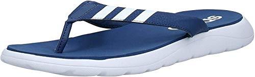 adidas Comfort, Infradito Uomo, Tecind/Ftwwht/Tecind, 42 2/3 EU