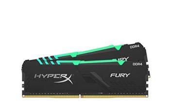 HyperX Fury HX432C16FB3AK2/16 Mémoire DIMM DDR4 (Kit 2x8GB) 16GB 3200MHz CL16 1Rx8 RGB