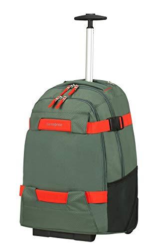 Samsonite Sonora - 17 Pollici Zaino Porta PC con Ruote, 55 cm, 30 L, Verde (Thyme Green)