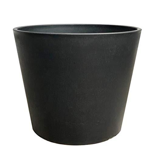 BLACK PLASTIC POT standard type 3号 黒 プラ鉢 厚口 ブラックポット スタンダード プラスチック シンセテ...