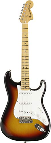 Fender Custom Shop エレキギター 72 Stratocaster Closet Classic 3-Color Sunburst,Thick Skin Finish Alder Body,1pc Maple Neck,9.5R/#6100 Frets