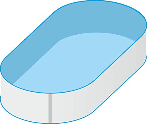 Trendpool Pool Schwimmbecken Oval Ovalpool 5,30 x 3,20 x 1,20m IH 0,8mm