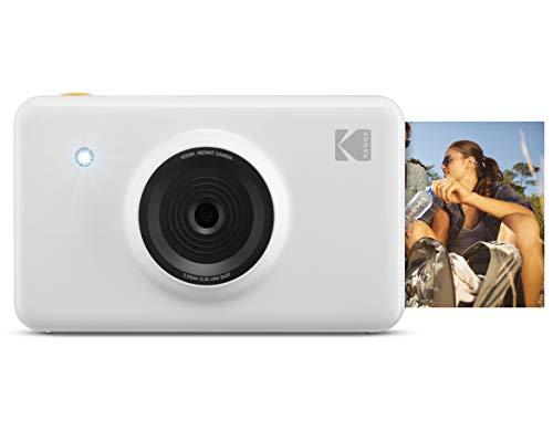 Kodak Mini Shot Wireless Sofortbild-Digitalkamera (Weiß) 2x3-Zoll-Druck mit patentierter 4-Pass-Drucktechnologie