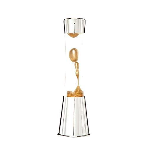 7even Lavalampe 40cm Kupfer Metallic & Klar/Magma Lampe Chrom Kupfer Metallic…