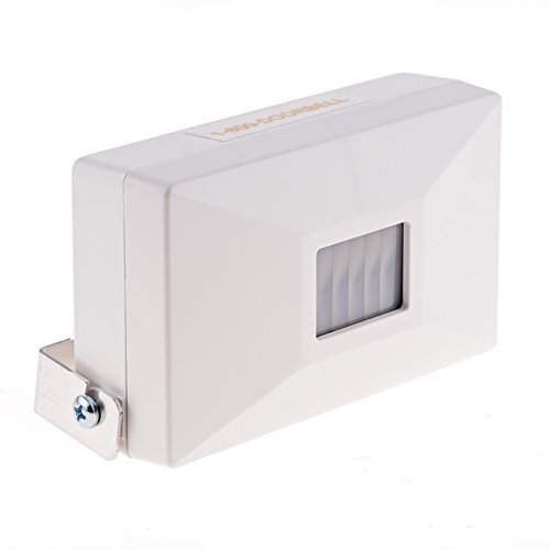 Compact Door Alarm with 16ft X 12ft Detection Area, 70dB Volume - 9V Battery Operated Alarm for Smaller Stores