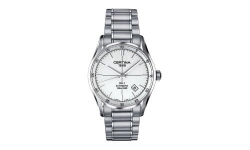 Certina DS -1 Herren-Armbanduhr XL Analog Automatik Edelstahl, silber