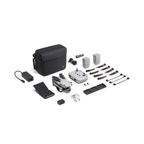 DJIAir2S FlyMoreCombo- Drone, Gimbal a 3 Assi con Fotocamera, Video 5.4K, Sensore CMOS 1, Rilevamento Ostacoli in 4 Direzioni, 31 min di Volo, Trasmissione 12km FHD FCC, MasterShots, Grigio
