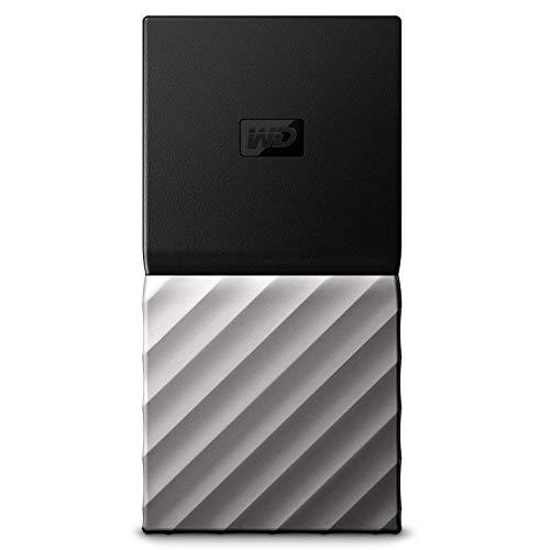 WD My Passport SSD, Almacenamiento portátil de 256GB, Color Negro compatible con PC, Xbox One y PS4