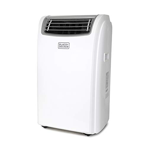 Black + Decker BPACT14HWT Portable Air Conditioner, 14,000 BTU w Heat, White