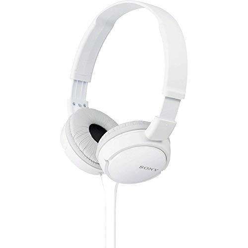 Sony MDR-ZX110 Cuffie On-Ear, Bianco