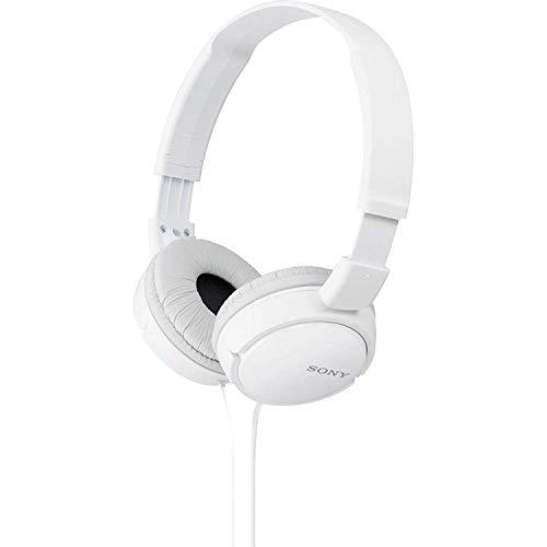 Sony MDR-ZX110 Cuffie On-Ear, Bianco