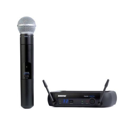 3. Shure Wireless Microphones (PGXD24/SM58-X8)