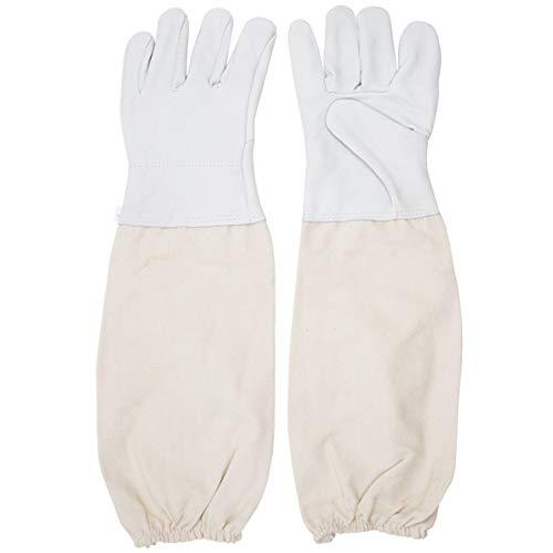 apicoltura guanti a prova di puntura di un paio di polsini maniche ventilata modello universale...