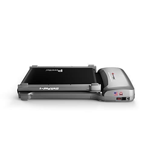 PowerMax Fitness WalkPad-5 (4.0HP Peak) Double Folded Ultra Thin Walking Fitness Treadmill with Remote Control
