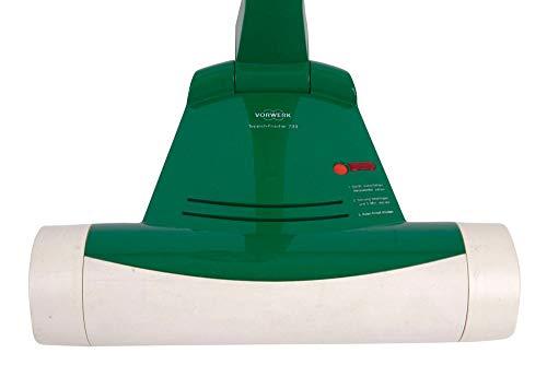 Vorwerk Teppichreiniger Teppichfrischer VTF 733 mit 2 Packungen Reinigungspulver - elektrischer für Kobold VK 120 121 122 130 131 135 136 - Gebraucht mit 3 Jahren Garantie