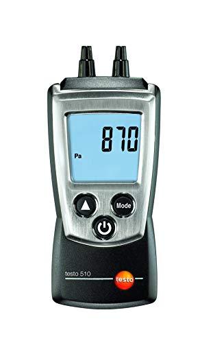 Testo 510 Digital Manometer I Dual-Port Differential Pressure Meter