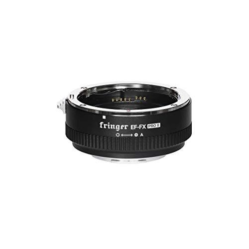 Fringer (フリンガー) FR-FX2 スマートマウントアダプター (キャノンEFマウントレンズ → 富士フイルムXマウント変換) 電子接点付き、絞りリング付き (PRO II バージョン)