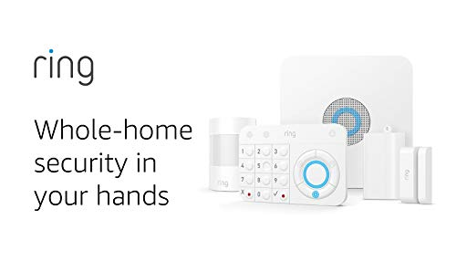 Ring Alarm 5 Piece Kit (1st Gen) – Home Security System with optional 24/7 Professional Monitoring – No...
