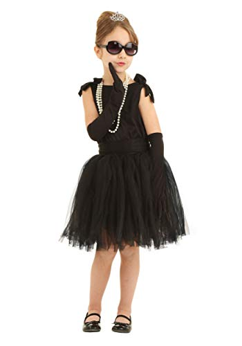 Child Breakfast at Tiffany's Holly Golightly Costume Medium