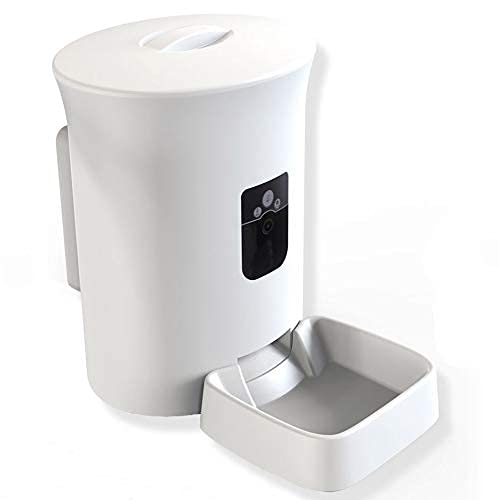 MOXNICE dispensador automático de comida para gato y perro (versión...