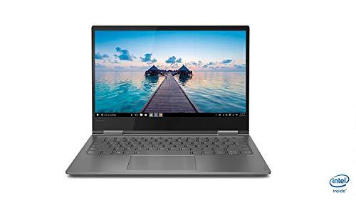"Lenovo Yoga730 - Ordenador portátil táctil Convertible 13.3"" FullHD (Intel Core i7-8550U, 16GB RAM, 512GB SSD, Intel UHD Graphics, Windows10) Gris - Teclado QWERTY Español"