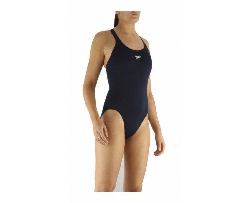 Speedo Endurance, Traje de natación para mujer, Azul (Marine),...