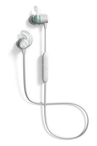 Jaybird Tarah Wireless Sport Headphones, Earphones, Bluetooth, Waterproof, for Training and Fitness Performance, Sweat and Waterproof, Sport Fit, Music and Calls, Nimbus Grey/Jade