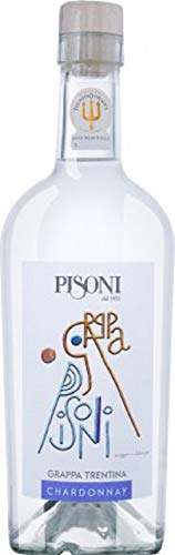 grappa trentina Chardonnay 0,70 l 43% vol. alc. Pisoni