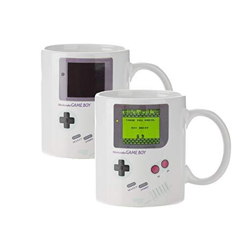 Paladone GIFPAL210 Taza Térmica Game Boy, Cerámica, Multicolor, 11x9x9 cm