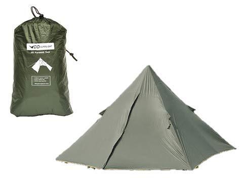 DD SuperLight - Pyramid Tent スーパーライト ピラミッドテント 超軽量 3,000mmの完全防水PUコーティング...
