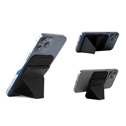 MOFT マグネットスマホスタンド iPhone 12シリーズ用MagSafe対応 カードケース機能 フロートタイプ角度調節...