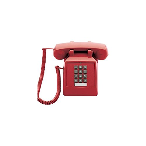 Scitec 2510E Red Single Line Emergency Desk Phone