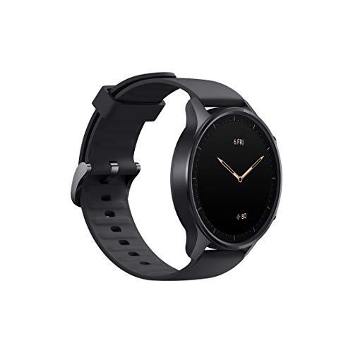 Mi Watch Revolve (Midnight Black)– Alexa Built-in, Steel Frame,...