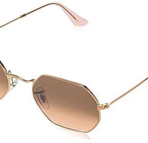 Ray-Ban Women's Rb3556n Octagonal Sunglasses 52