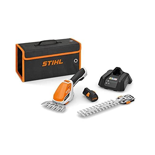 Stihl HSA 26 - Cesoie per arbusti a batteria con AS2 e AL1