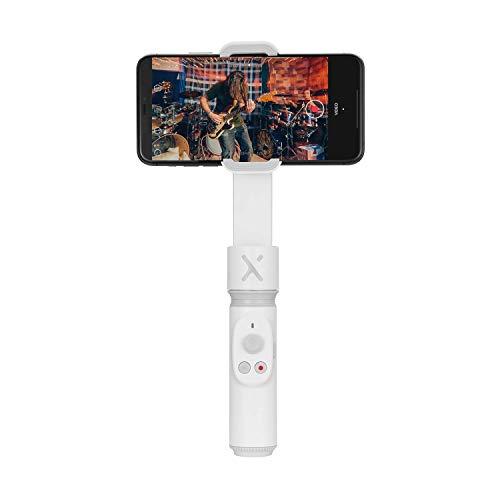 ZHIYUN Smooth-X [Offiziell] Faltbarer Smartphone Gimbal Stabilisator Selfie Stick Vlog Youtuber (Wei?)