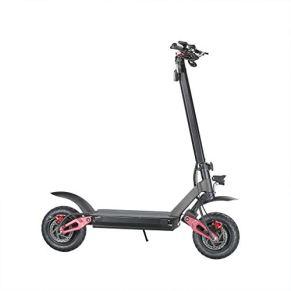 SZ-DDC Scooter eléctrico, Pantalla LCD, Control Remoto, 20.8Ah de Gran Capacidad de la batería de Litio, Potente Motor…