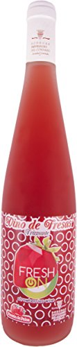 Bodegas Privilegio del Condado - Fresh On   Vino de Fresa Frizzante - 2 botellas de 0,75L