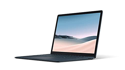 Microsoft Surface Laptop 3 – PC Ultra-Portable (écran 13 pouces, Intel Core i5, 8Go de RAM, 256Go de stockage SSD) – Bleu Cobalt (finition Alcantara)
