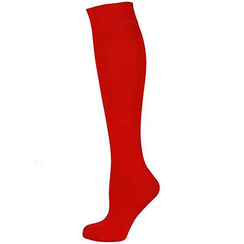 Mysocks Calzini alti al ginocchio Rosso