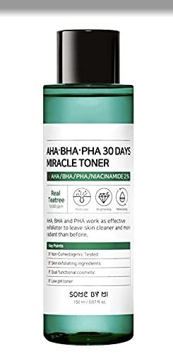 Some By Mi - AHA BHA PHA 30 Days Miracle Toner, Tónico Facial Antiacné, 150ml