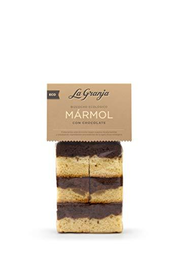 LA Granja Bizcocho Marmol Chocolate 300 G, Sin Potenciadores Del Sabor, 6 Unidad