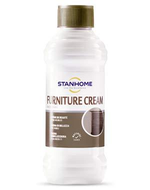 STANHOME Furniture Cream Pulitore concentrato in Crema per mobili in Legno 250ml